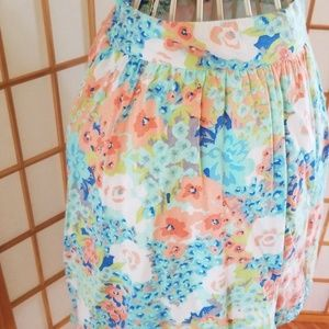 Candie's Skirts - Candie's Summer Floral Flowy Mini Skirt
